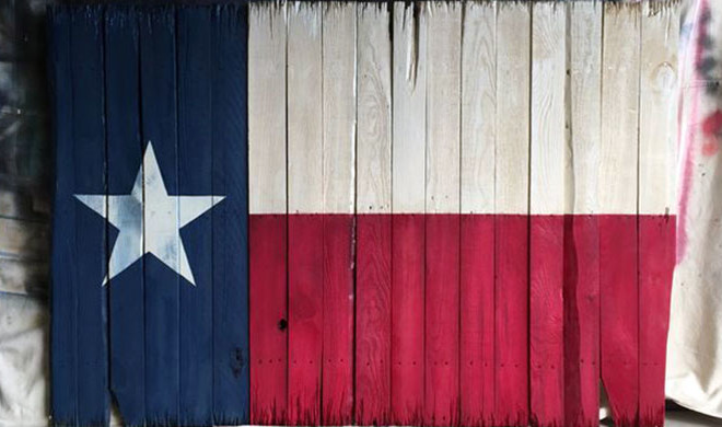 How to Make a Rustic Texas Flag with Wooden Pallets