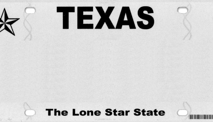 Texas Drivers License Star