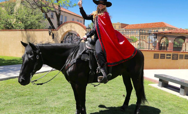 Texas Tech Names Their New Masked Rider for 20172018