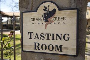 Grape Creek Vineyards and Winery in Fredericksburg TX