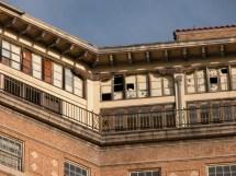 Baker Hotel Mineral Wells Detail Of Top Floor