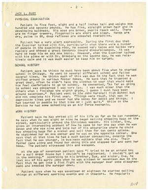 thumbnail image of item number 3 in psychiatric evaluation of jack ruby