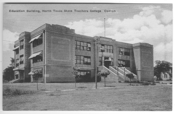 Postcard Education Building North Texas State Teachers