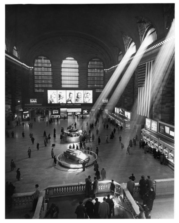 Interior Of York' Grand Central Station