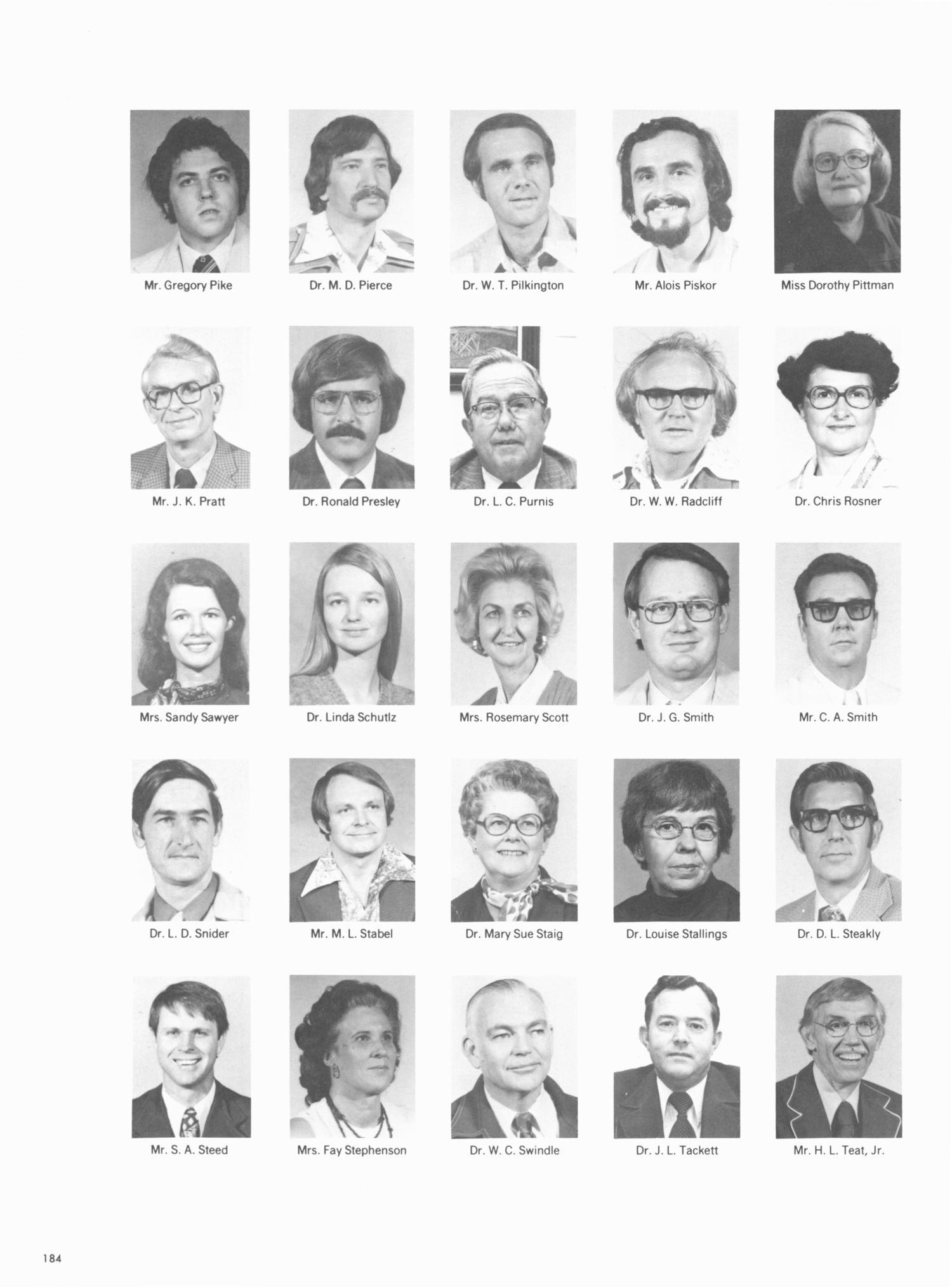 The Grassburr, Yearbook of Tarleton State University, 1979