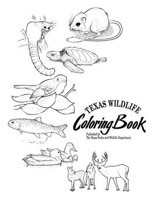 Texas Wildlife Coloring Book : The Portal to Texas History