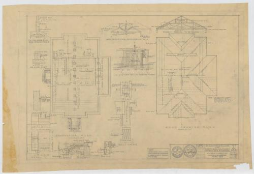 small resolution of school auditorium blanket texas plans and diagrams the portal to texas history