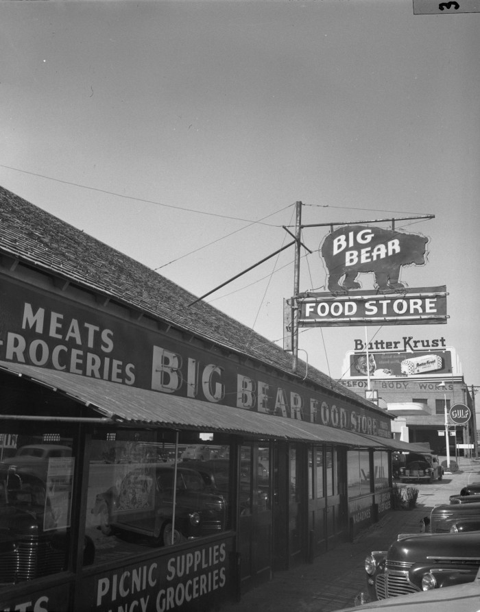 Austin Street Stores : austin, street, stores, Exterior, Store], Portal, Texas, History