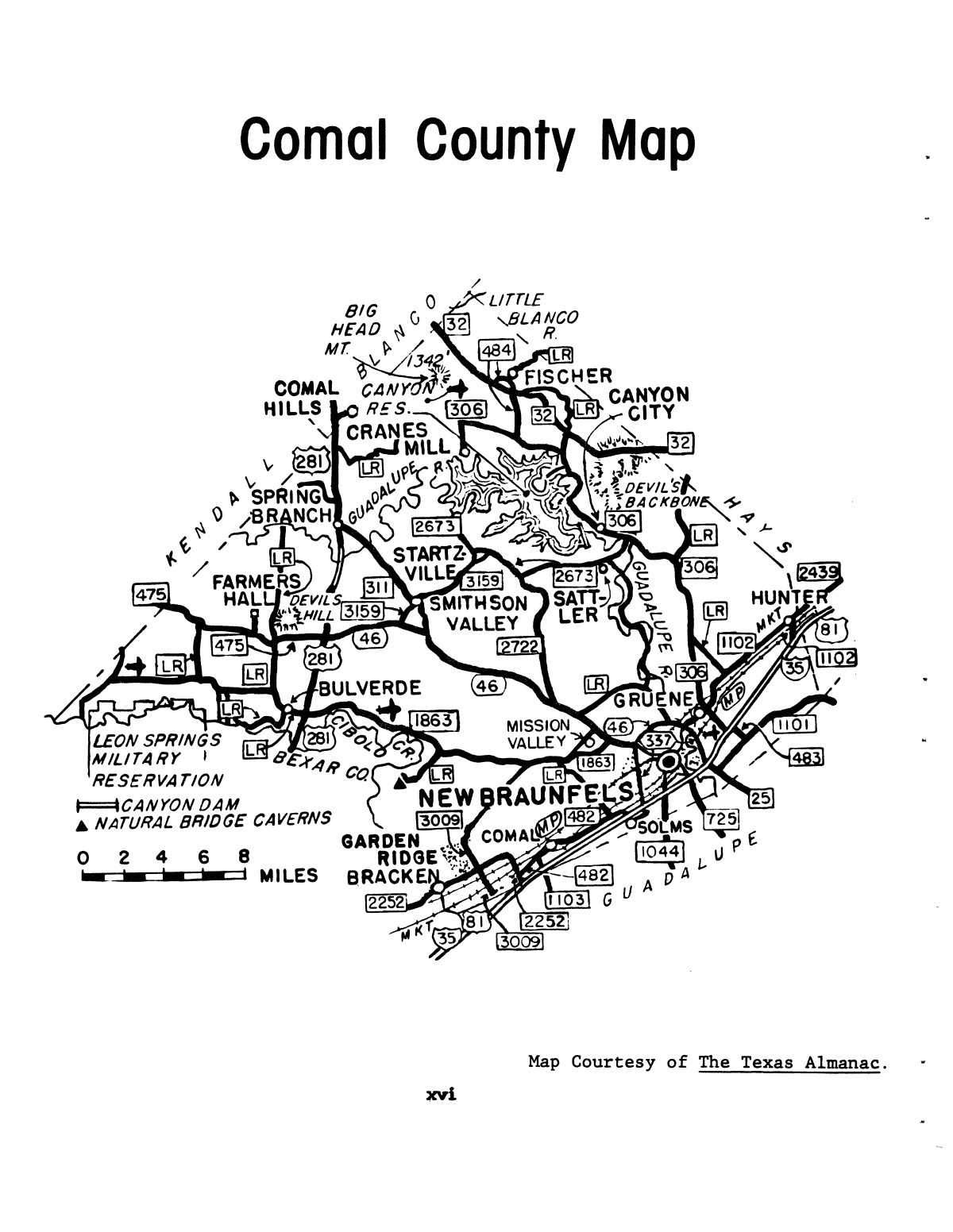 Inventory of county records, Comal County courthouse, New