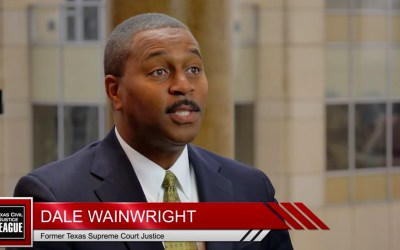 Former Texas Supreme Court Justice Dale Wainwright discusses how a judge can impact a person's life