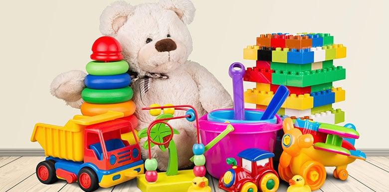 toys and teddy bear