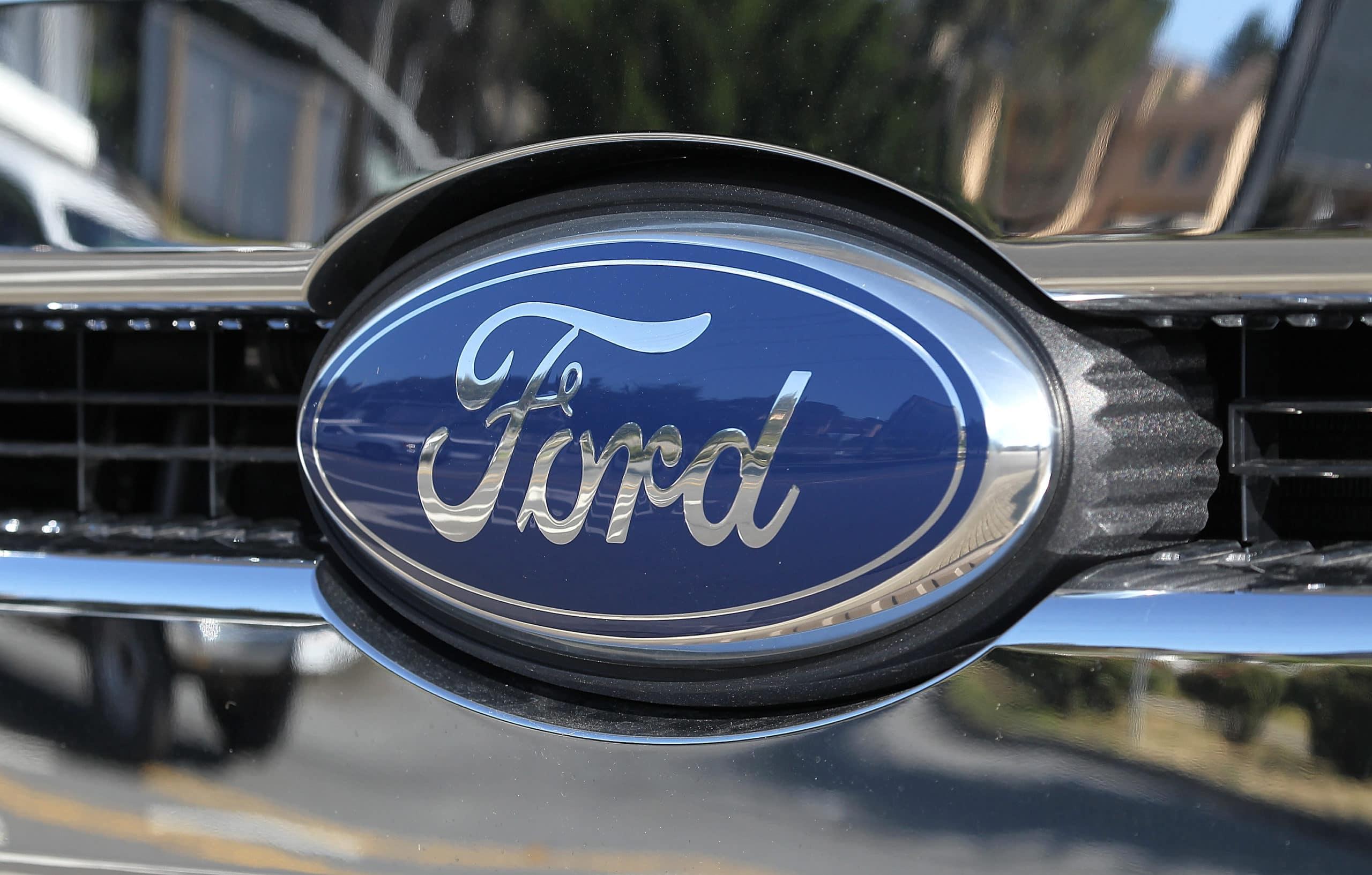 ford logo recal