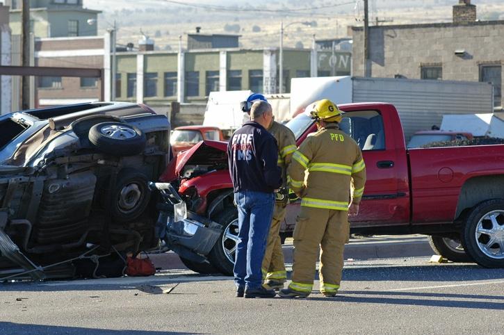 company car Crash