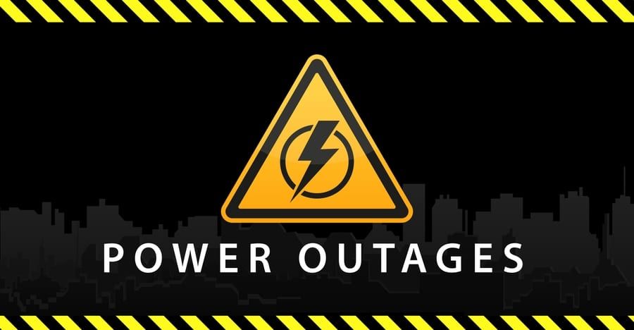 Texas Power Outage Symbol