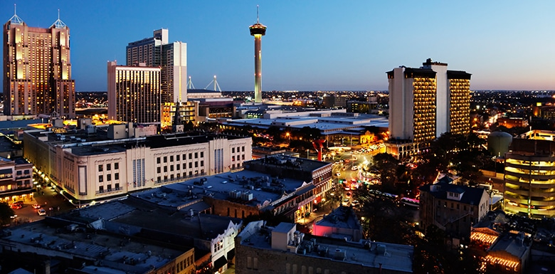City of San Antonio skyline