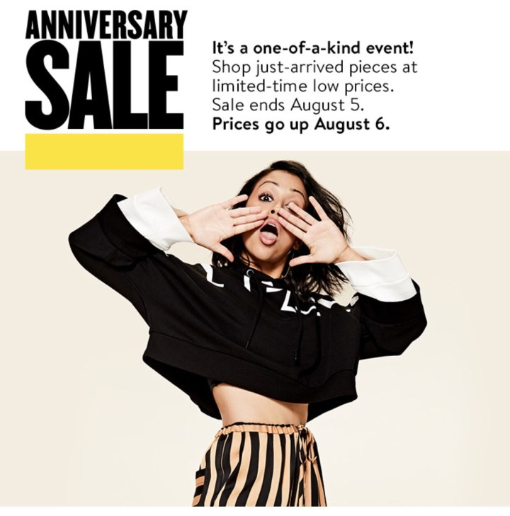 Nordstrom Sale Ending this Weekend