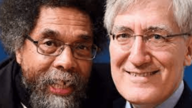 Drs. Cornel West, Robert George