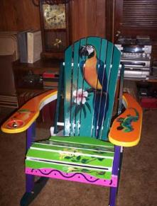 Lets Get Drunk and Paint Adirondack Chairs Unique  Hand