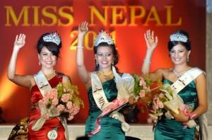 Miss Nepal 2011 Winners