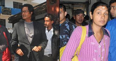 Balkumari Adhikari (Right)