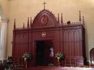 The Jubilee Doors in the Shrine Church.