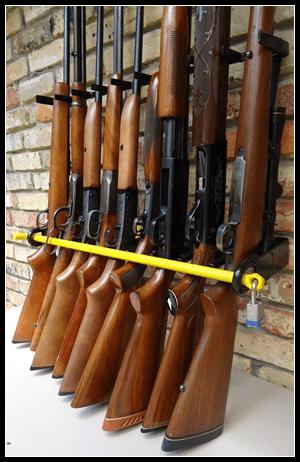 gear review firearm security racks inc nine gun rack