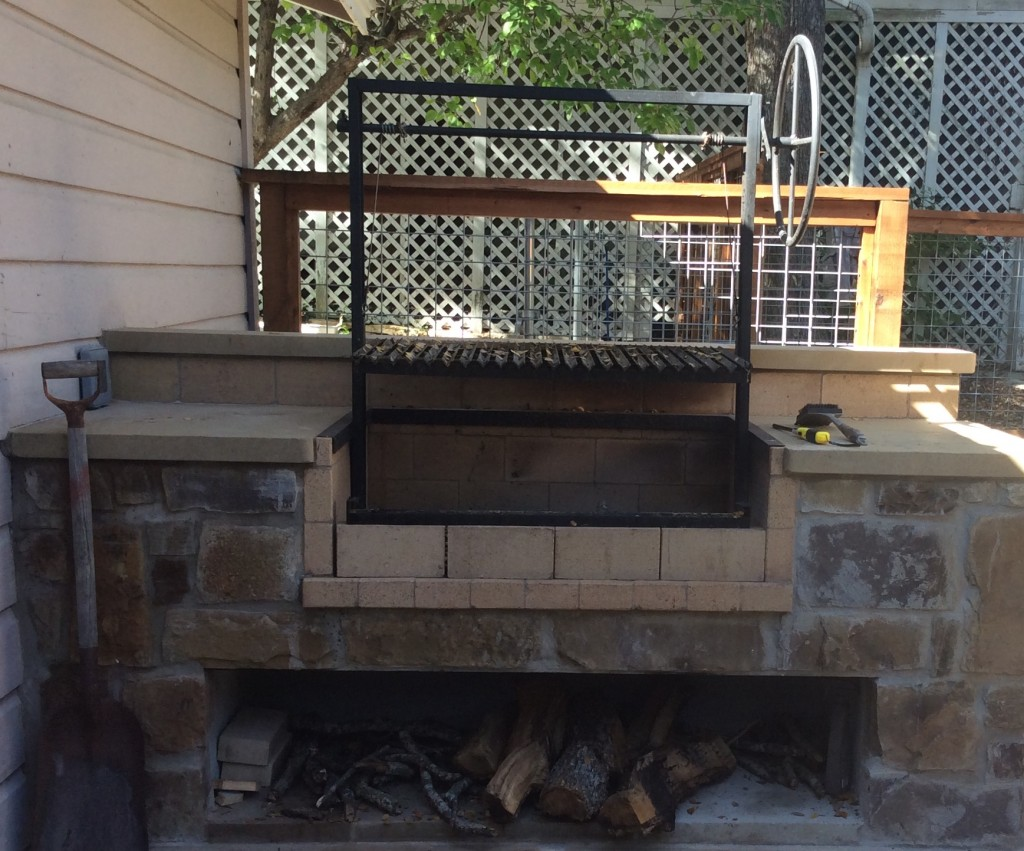 outdoor kitchen bbq kits led light fixtures texas oven co. argentinian grill -