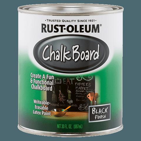 Rustoleum Chalk Board Paint U2013 Black 30 Oz. Can