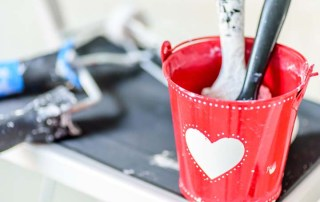 Caliente Valentine's Day - Texas Paint