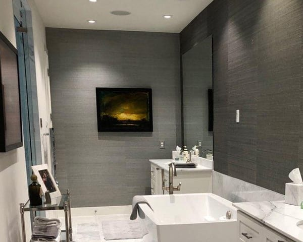 Wall Coverings Grasscloth In Bathroom Texas Paint And Supply Dallas