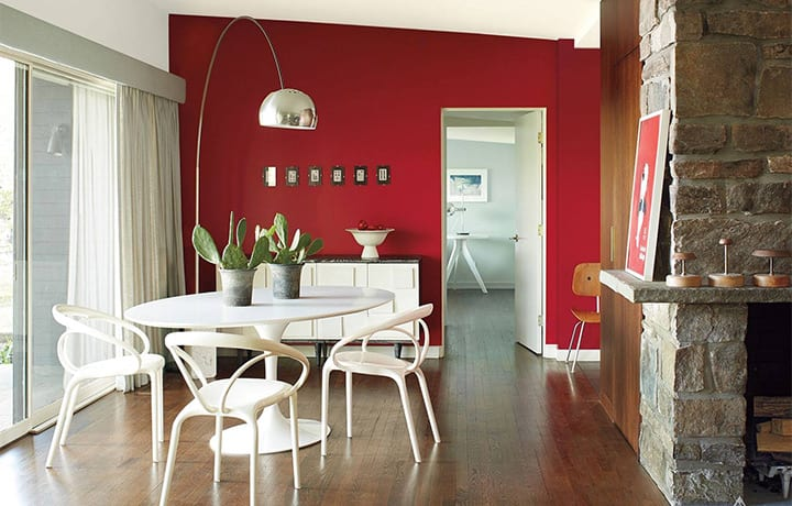 A fresh coat of paint makes a home feel refreshed