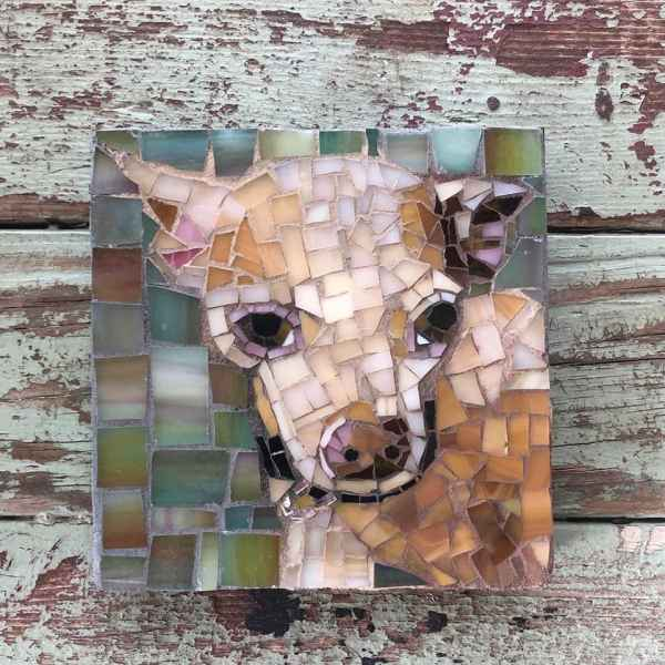 DeniseMosaics-Pet Portraits Dog Before and After Gallery 4b