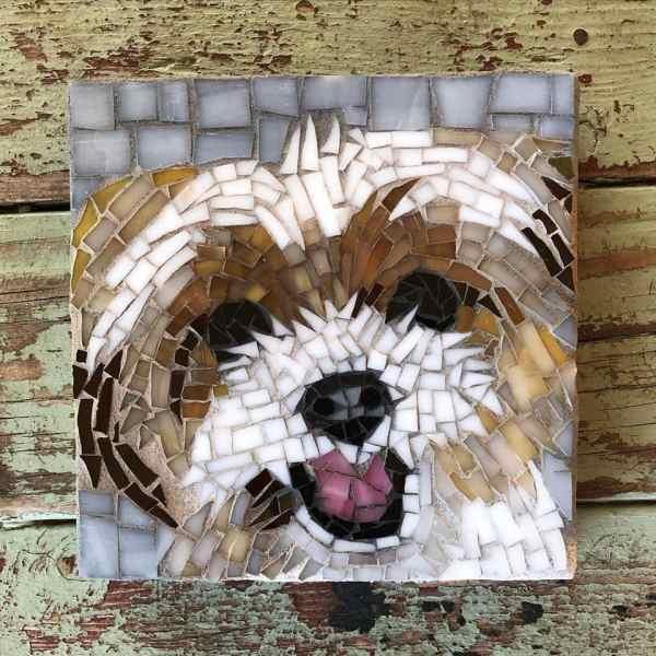 DeniseMosaics-Pet Portraits Dog Display Gallery 5