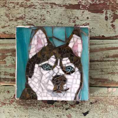 DeniseMosaics-Pet Portraits Dog Display Gallery 6