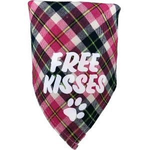 Texas Pet Company Dog Bandana TPCBANFKT24PL-Folded