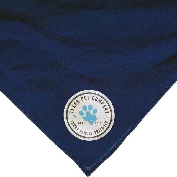 Texas Pet Company Official Brand Seal Logo Dog Bandana NAV
