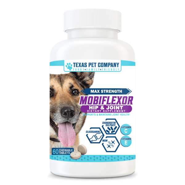 Mobiflexor Max Strength Hip & Joint Support Chewable Tablets for Dogs 2