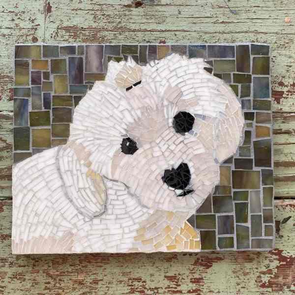 Texas Pet Co Pet Mosaic 8x10 2