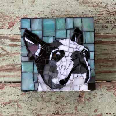DeniseMosaics-Pet Portraits Dog Texas Pet Co Gallery