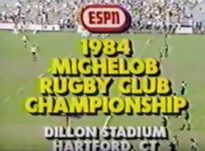 1984 USA Rugby National Club Championship - Dallas Harlequins vs LA
