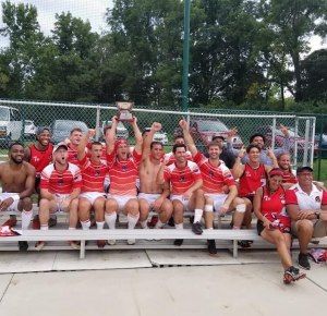 Dallas Rugby wins the Bowl at the 2019 USA Rugby Club 7s Championships