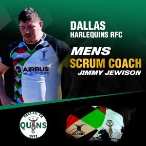 Men's Scrum Coach – Jimmy Jewison