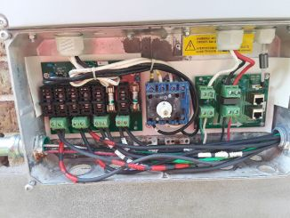 Inside Solar inverter