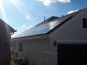 Leander Solar Install