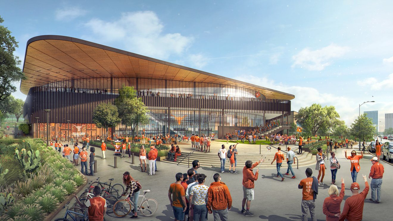 Moody Center groundbreaking ceremony and concert set for Dec. 3