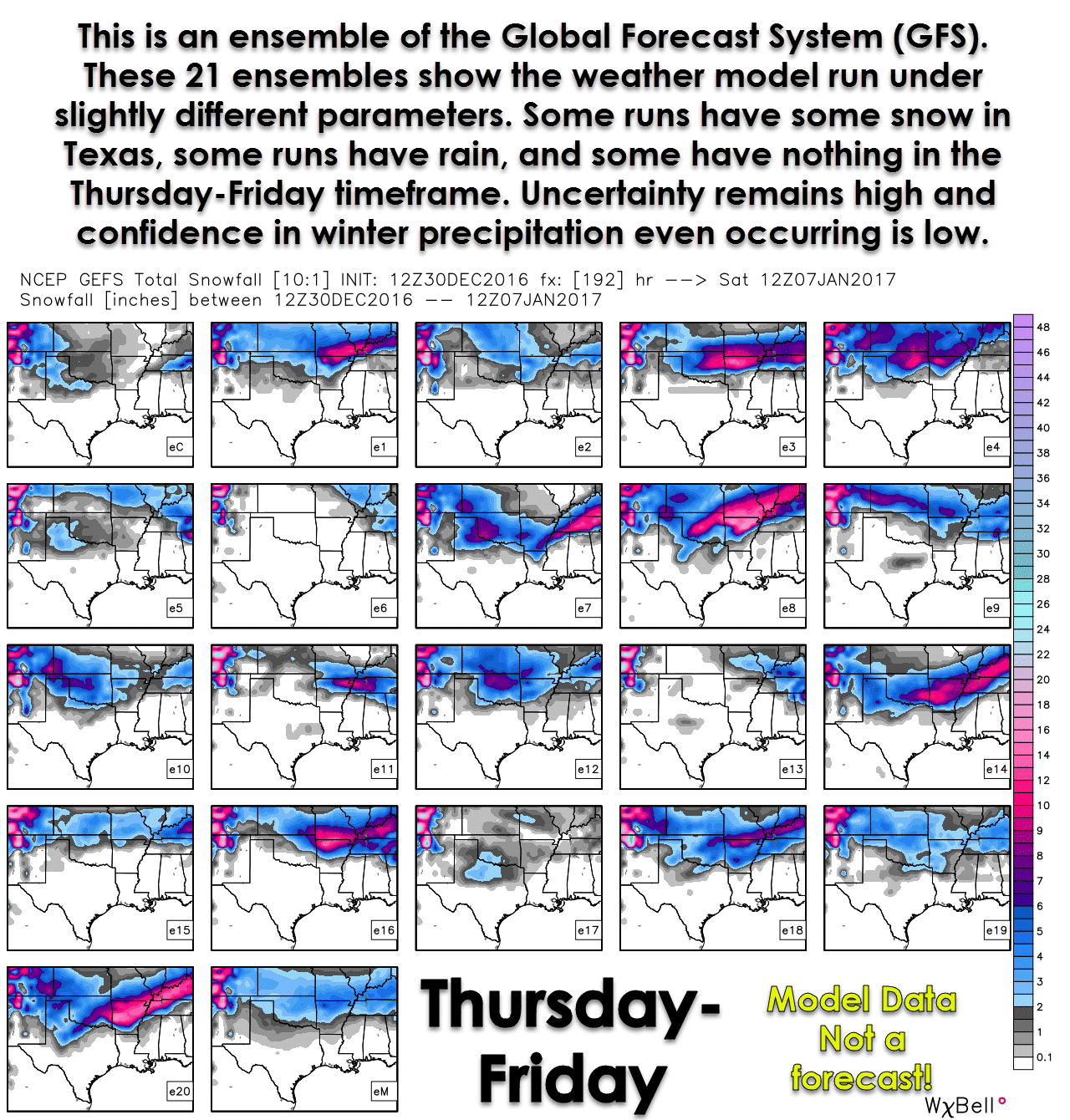 Snow in Texas next Thursday-Friday? Not so fast... • Texas Storm Chasers