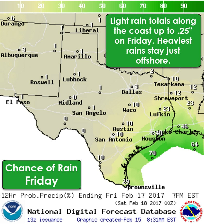 Gearing Up for Widespread Rain/Storms Beginning Sunday • Texas Storm ...