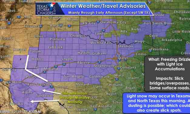 4:30 AM New Years Eve Winter Weather Update & Morning Expectations
