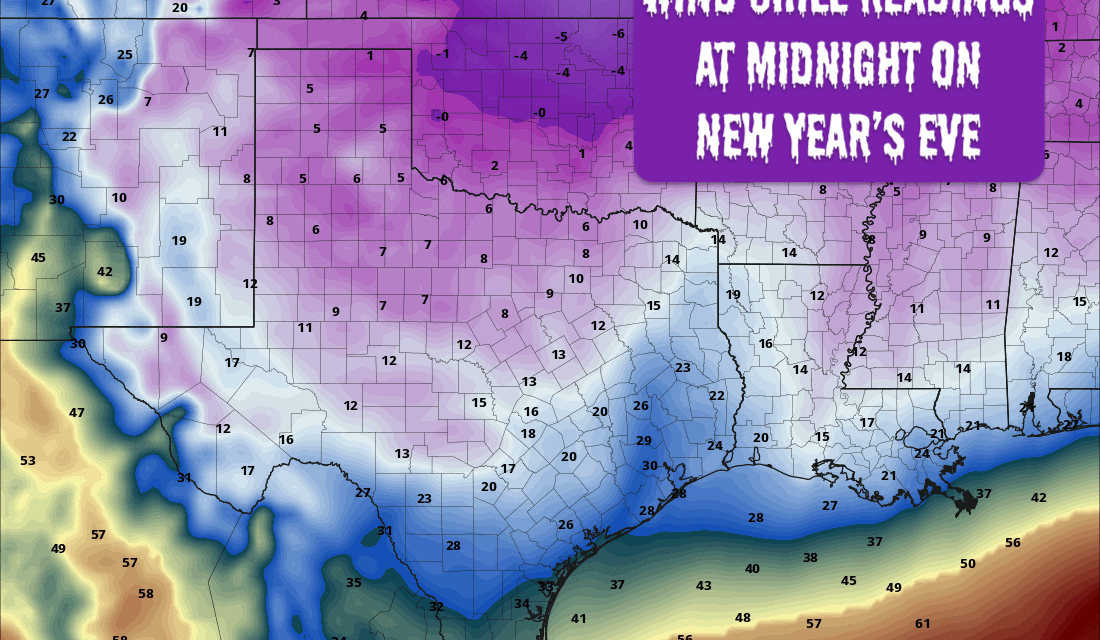Arctic Front Arrives This Weekend – Hazardous Travel Possible For Northern & Western North Texas Today and Overnight