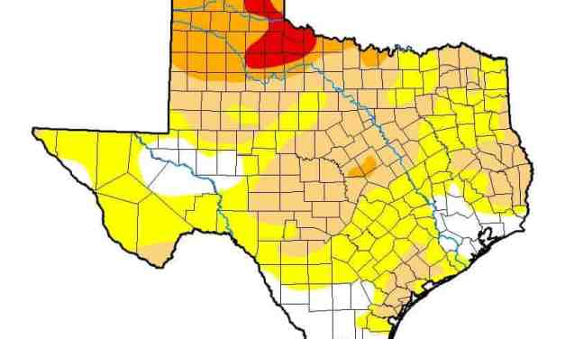 Texas Drought Continuing to Worsen; 105 Days since last measurable rain in Amarillo